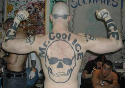 When tattoos go horribly wrong.