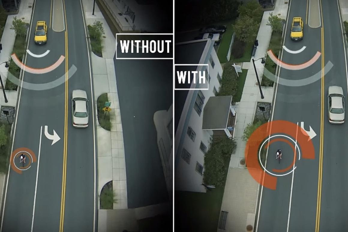 The Shield TLis claimed to dramatically increase a bike's radar reflectance