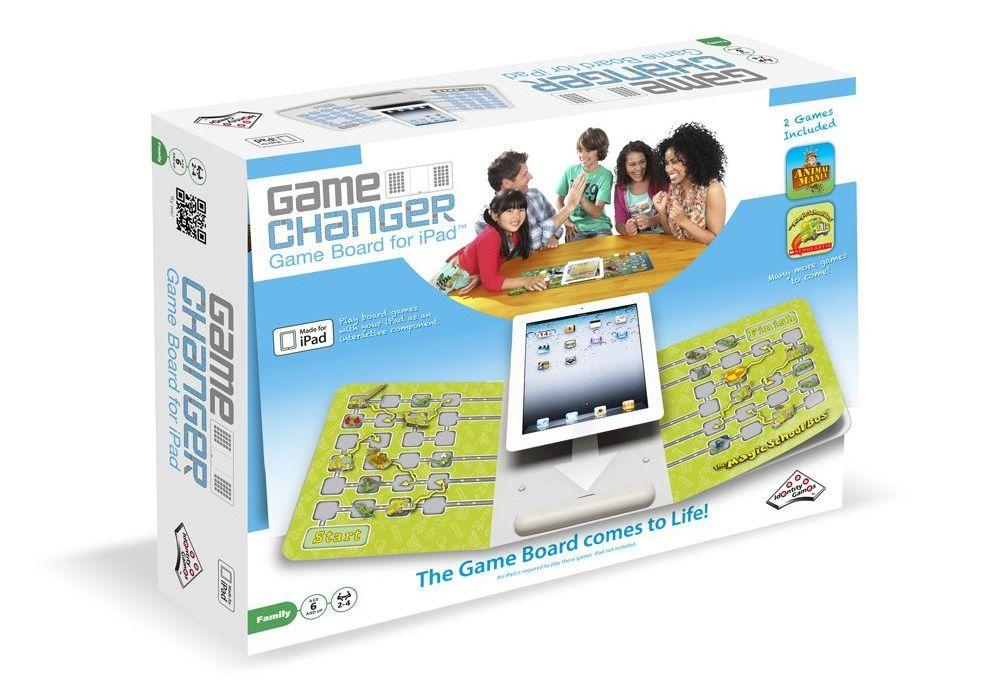 Identity Games has introduced the GameChanger interactive electronic board for iPad