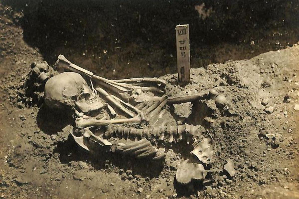The individual is believed to have died sometime between 1370 and 1010 BC
