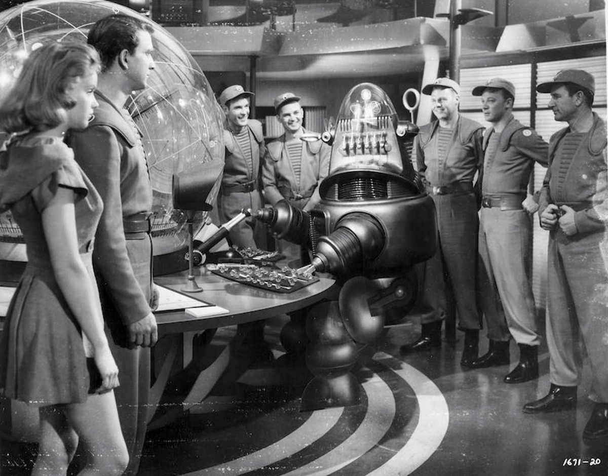 The Bonhams sale includesprops, costumes and models from the film Forbidden Planet