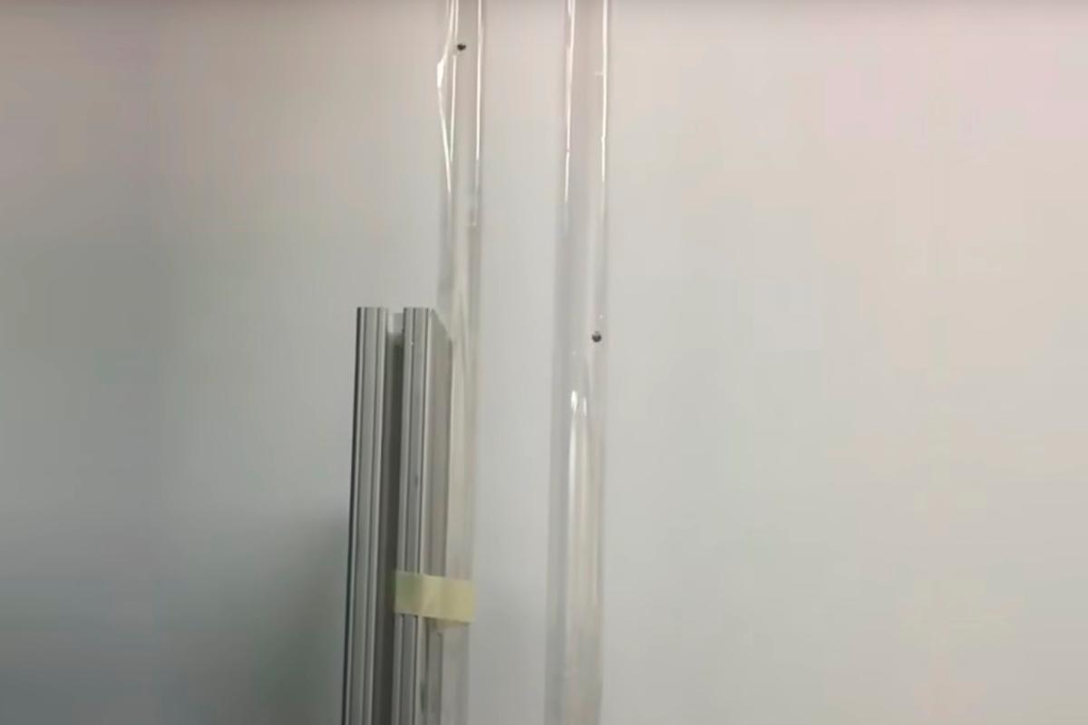A bulk metallic glass (BMG) ball (left) outbounces its steel cousin