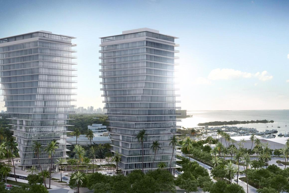 """The twisting design of the towers is described as being like """"dancing motion"""""""