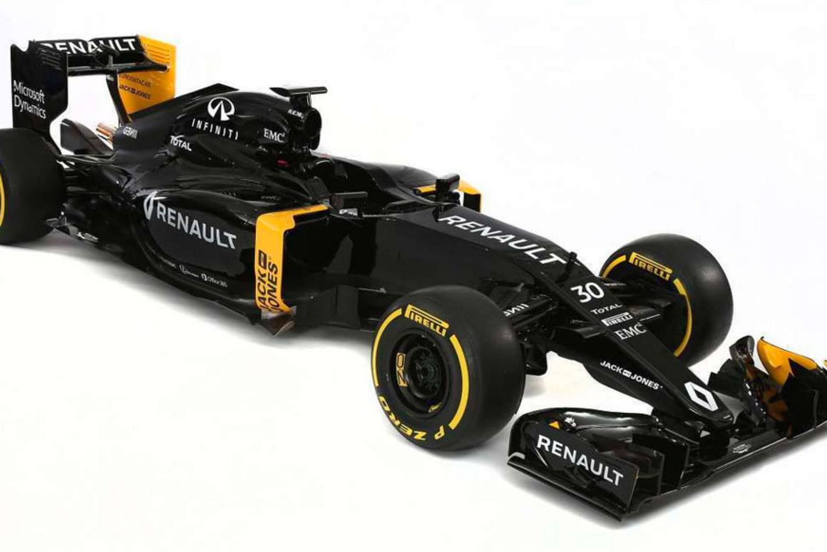 The R.S.16 will be in the hands of the newly formed Renault factory team