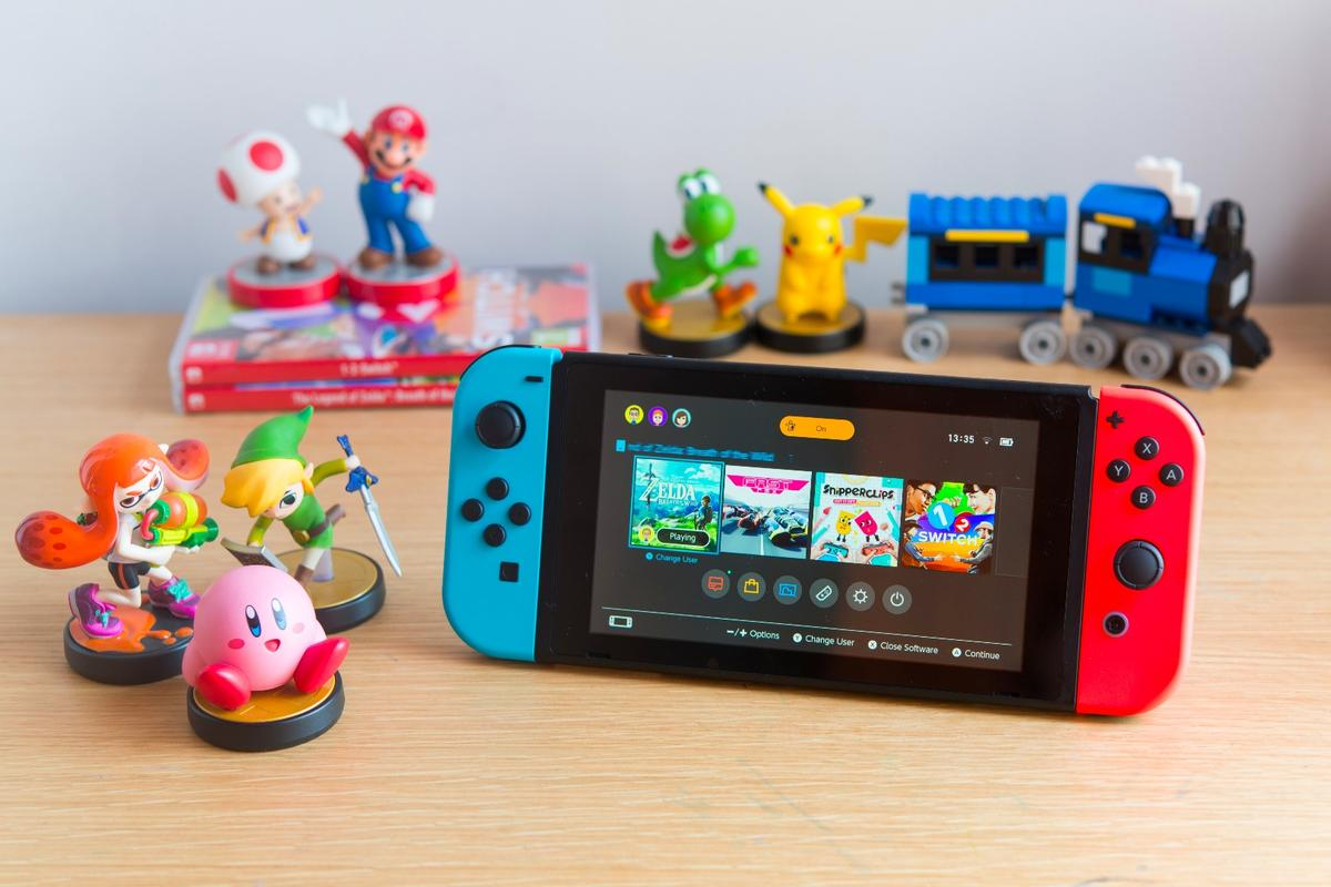 We look at the new Nintendo Switch from the perspective of parents and families