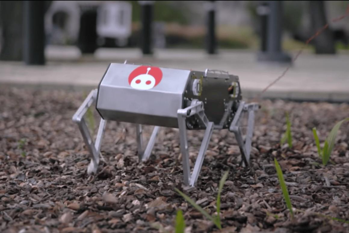 Stanford's robotic Doggo can perform backflips