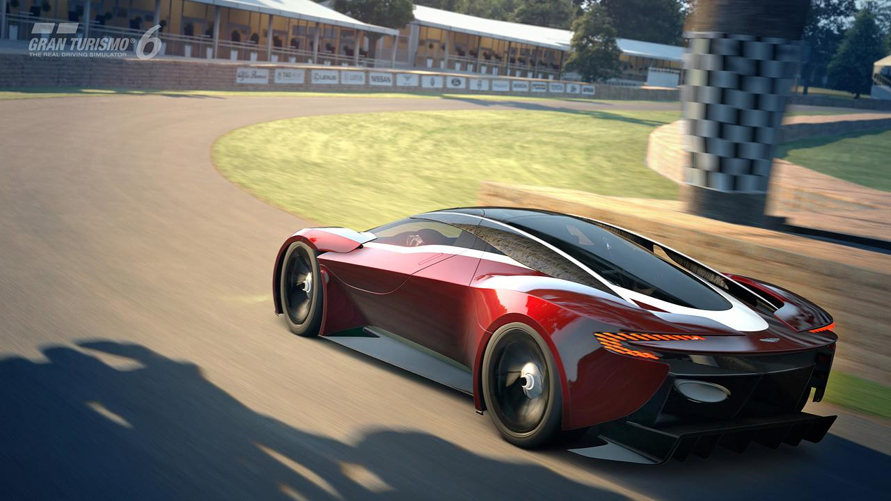 The only place you can actually drive the GT6 Aston Martin DP-100 is on a PlayStation (Image: Gran Turismo)