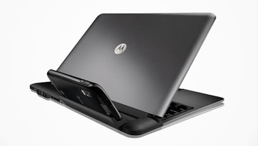 The Motorola ATRIX 4G and Laptop Dock