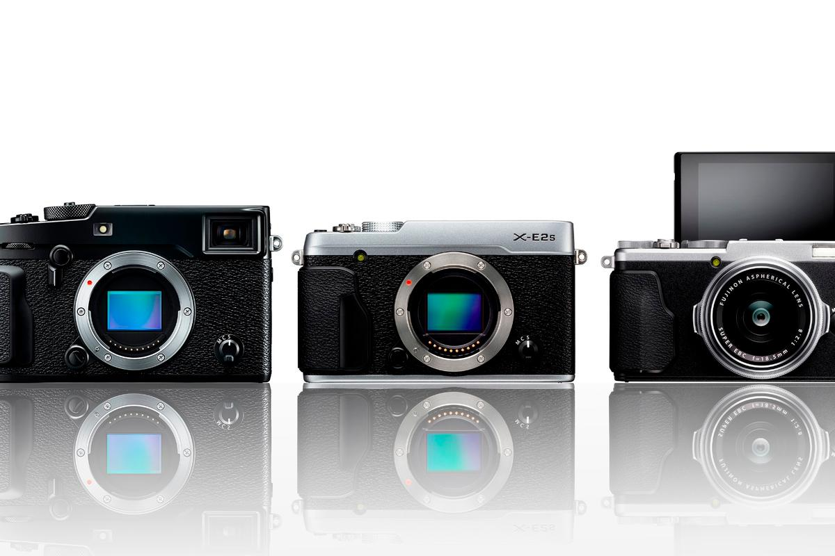 Fujifilm has updated its X-series line-up with three new cameras