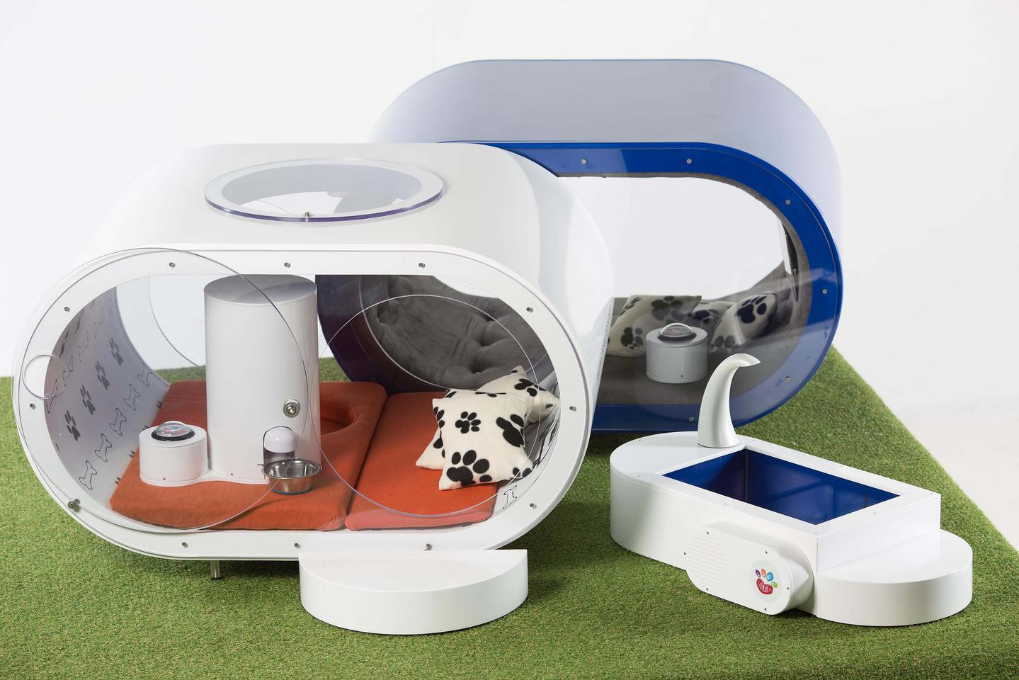 Samsung Dream Doghouse envisions luxury digs for man's best