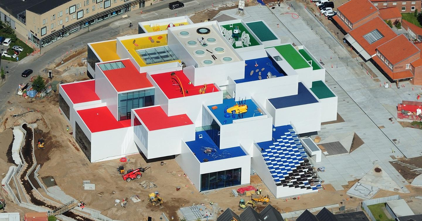 The real Lego House, designed by BIG
