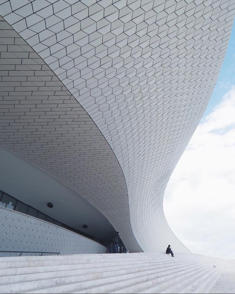 Finalist in The Architect category of the 2018 EyeEm Awards: The MAAT Museum in Lisbon, Portugal