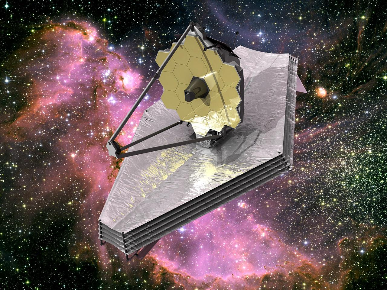 The James Webb Space Telescope will operate from the L2 Earth-Sun point (Image: NASA)