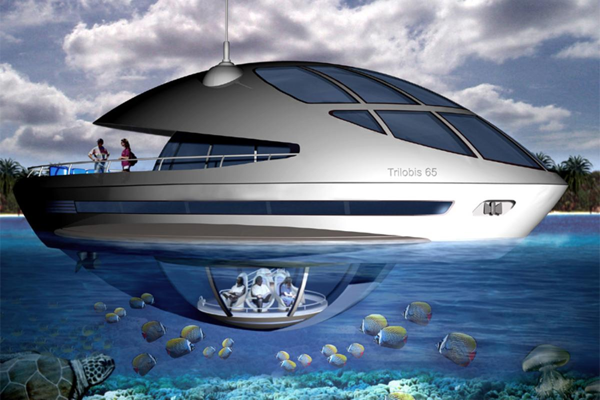 The Trilobis 65 floating home