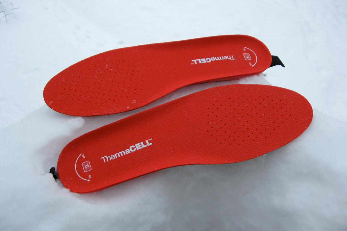 Gizmag reviews ThermaCELL's Heated Insoles