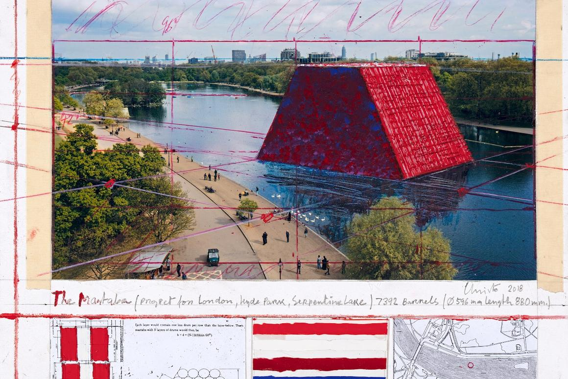 Construction on the London Mastaba began on April 3