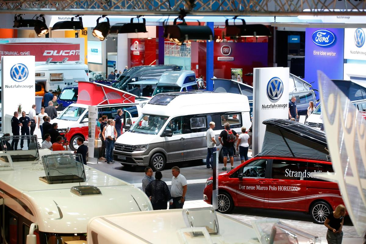The 2017 Düsseldorf Caravan Salon