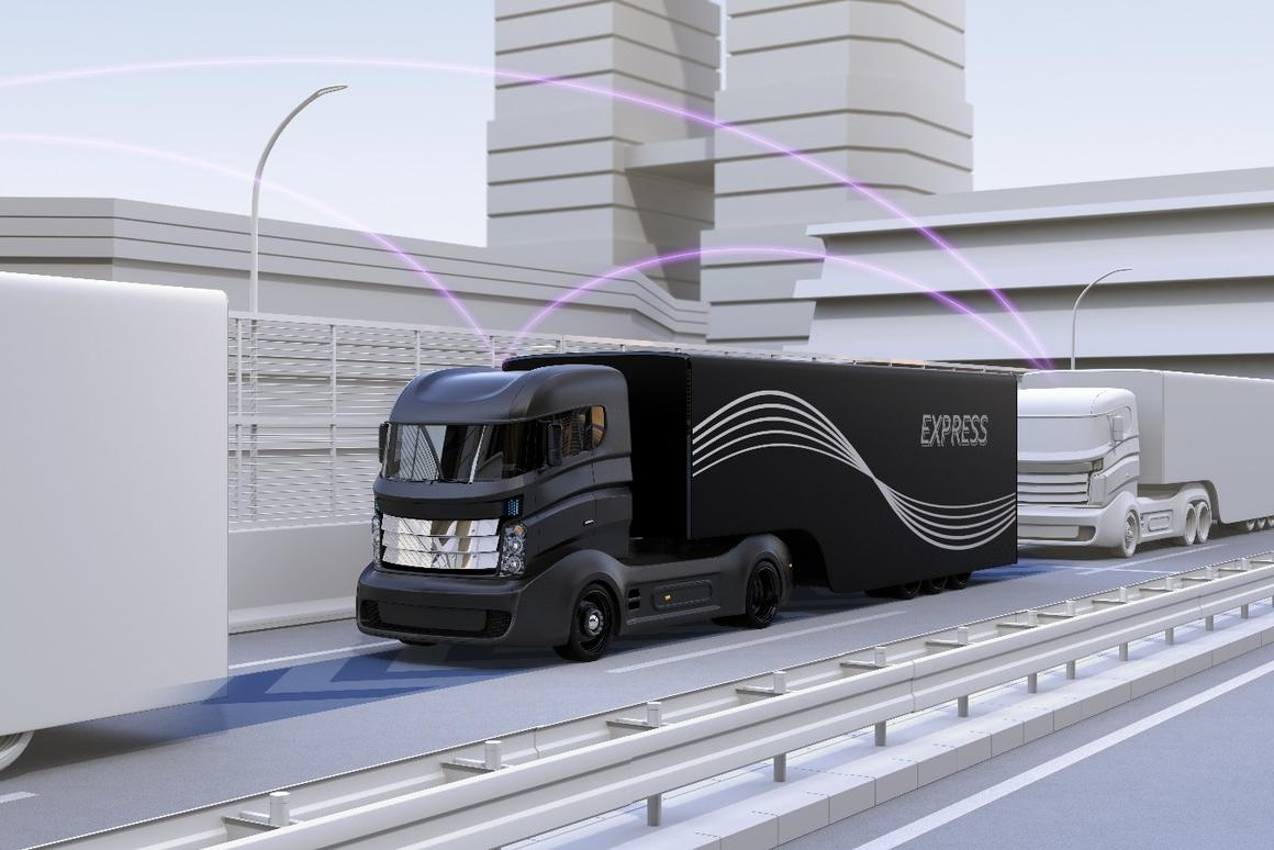 The country's first public truck platoon trialswill be headed up by the UK's Transport Research Laboratory