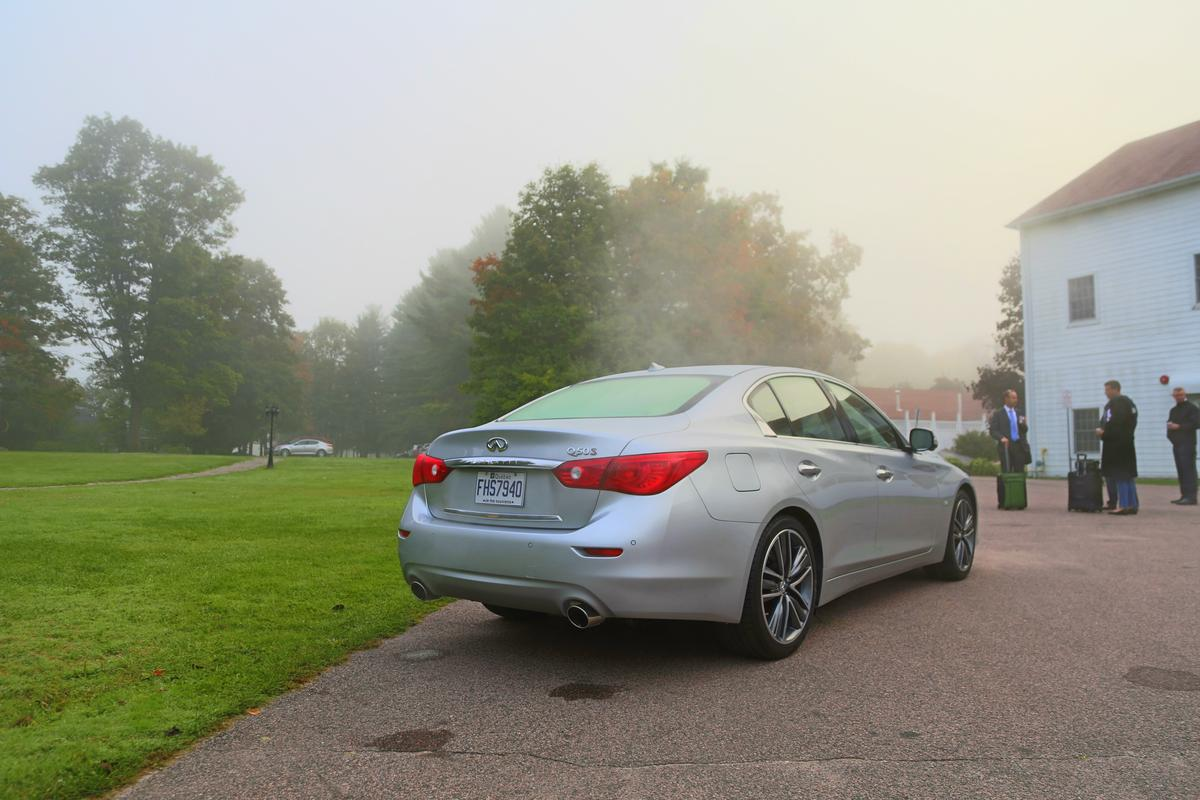 Gizmag recently had the opportunity to experience Infiniti's new Q50 (Photo: Angus MacKenzie/Gizmag.com)