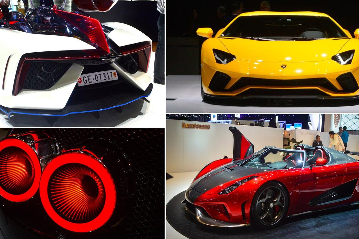 Supercars and exotics of the 2017 Geneva Motor Show