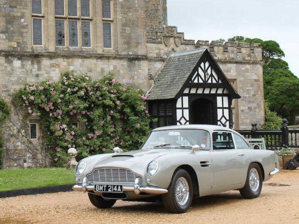 The Aston Martin DB5 up for auction was featured in the Bond movie GoldenEye