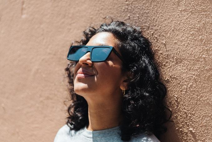 The sunglassesfunction as effective UV-blockers also