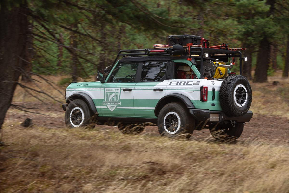 The Bronco + Filson Wildland Fire Rig is the biggest, most visible part of the collaboration between Ford and Filson but they're also working on limited-edition outdoor gear