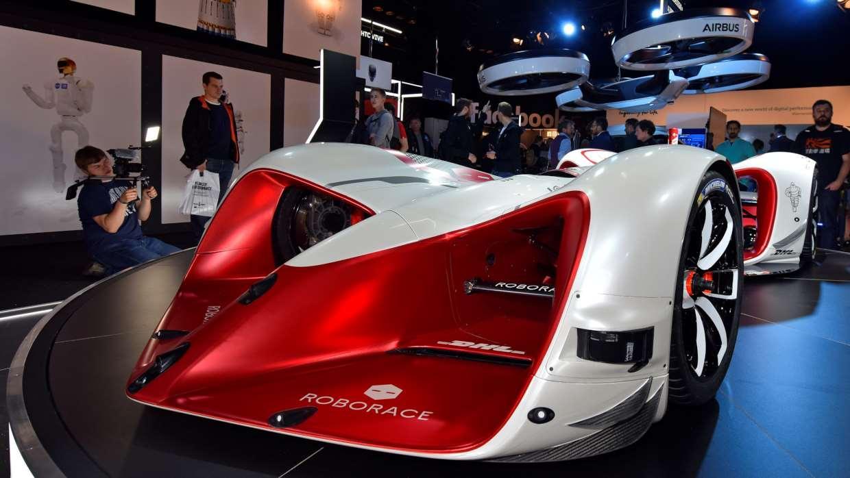Roborace had its autonomous car on show at theGoodwoodFestival of Speed