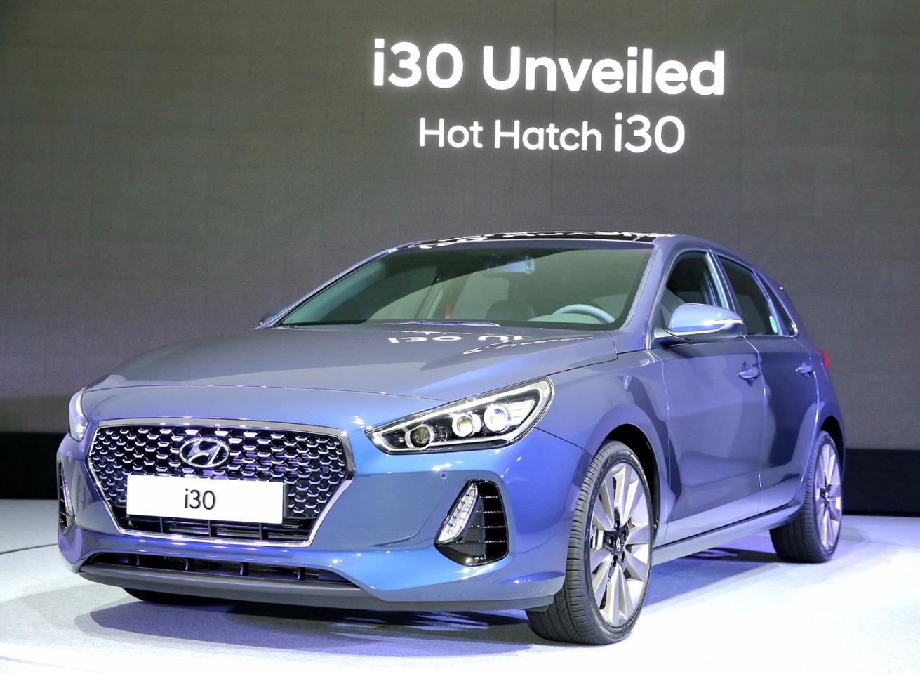 The new Hyundai i30 at its launch