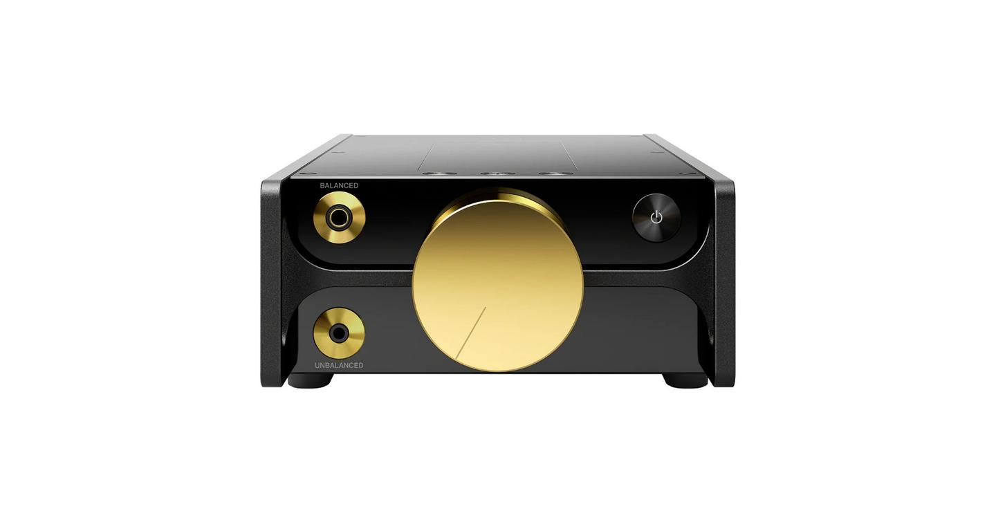 Sony reckons that the gold-plated rotary volume control out front is much more than mere bling, but also serves to ensure audio signal purity