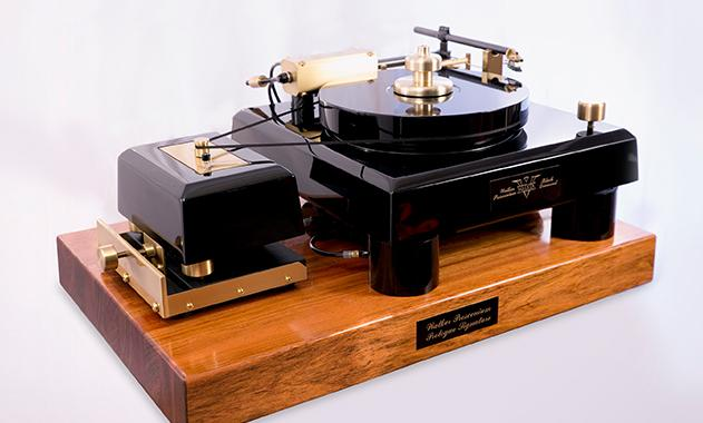 Walker Audio's highly-prized and highly-priced Proscenium Black Diamond V turntable