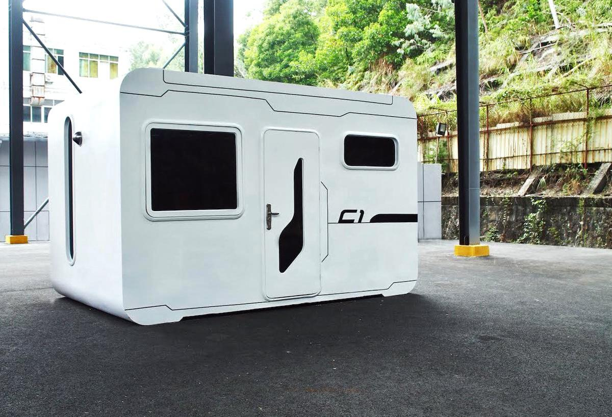 Singapore- and China-based design studio Nestron has revealed a 14.5 square meter (156 sq ft) tiny home that is packed with smart features