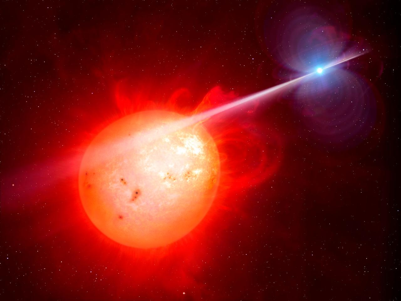Astronomers have spotted a white dwarf pulsar for the first time