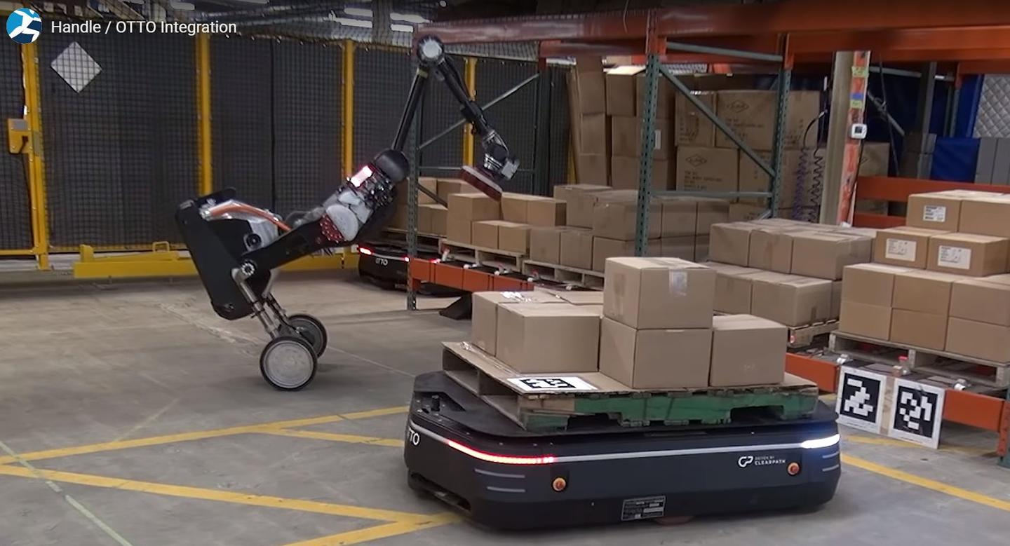The demonstration showed the degree to which warehouse automation can go