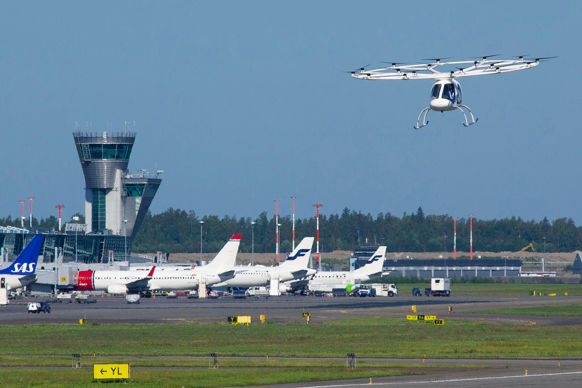The Volocopter's recent demonstration flight in Helsinki was part of the Single European Sky ATM Research program (SESAR), public-private venture to overhaul European airspace for an era of unmanned aircraft