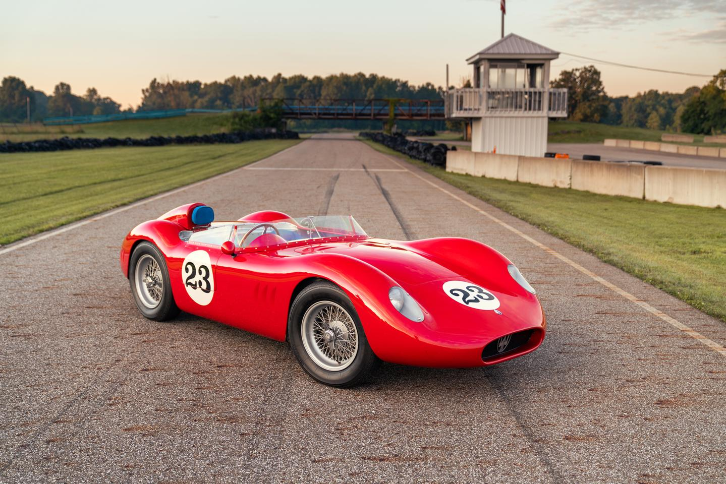 This 1957 Maserati 200 SI will go to auction during Monterey Car Week with Gooding & Co (Lot 46) on Saturday, 14 August 2021 with an official estimate of $4,000,000 - $4,500,000