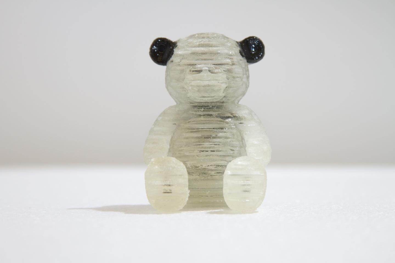 A 3D printed squishy teddy bear (Photo: MIT Computational Fabrication Group)