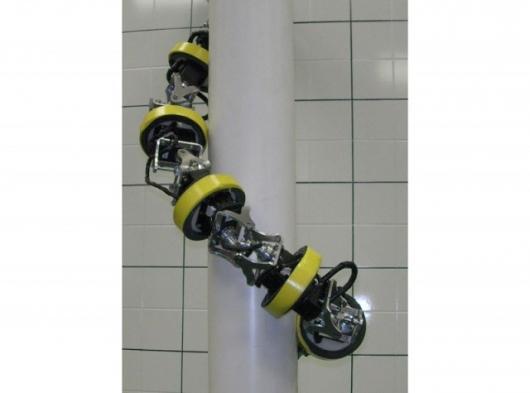 RoMeLa's climbing HyDRAS robot