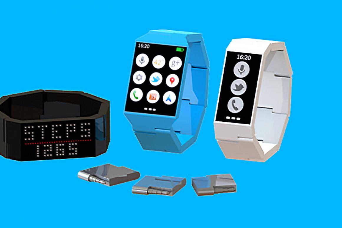 The Blocks smartwatch takes the modular concept from Google's Project Ara, and transfers it to the burgeoning world of smartwatches