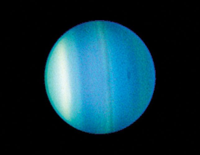 2006 image of Uranus captured by the Hubble Space Telescope