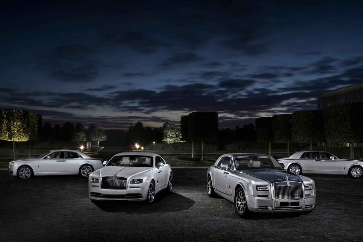 The Suhail Collection includes all current Rolls-Royce models