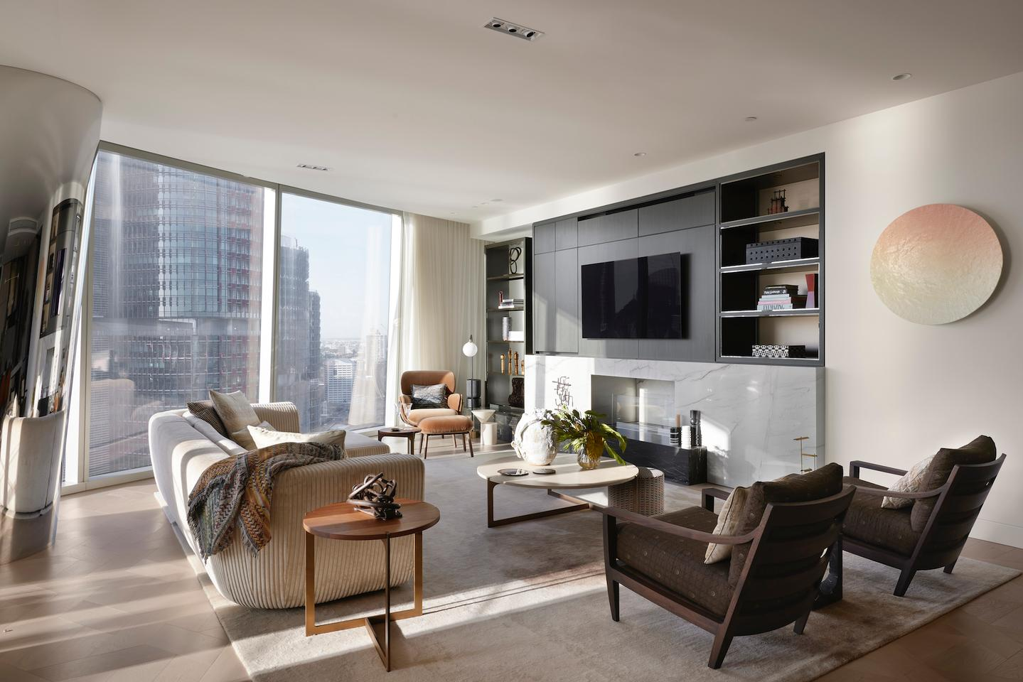 One Barangaroo includes 76 luxury residential apartments