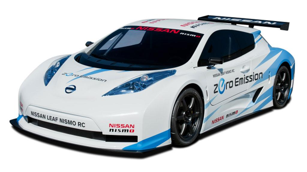 Nissan is looking to bring zero-emission motoring to the racetrack with its LEAF NISMO RC (Racing Competition)