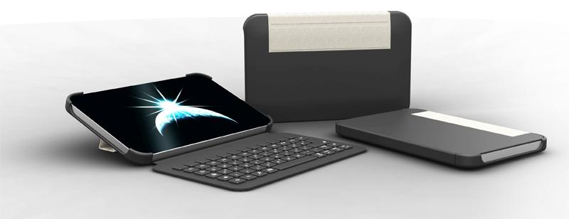 For tablets the keyboard is also a protective case