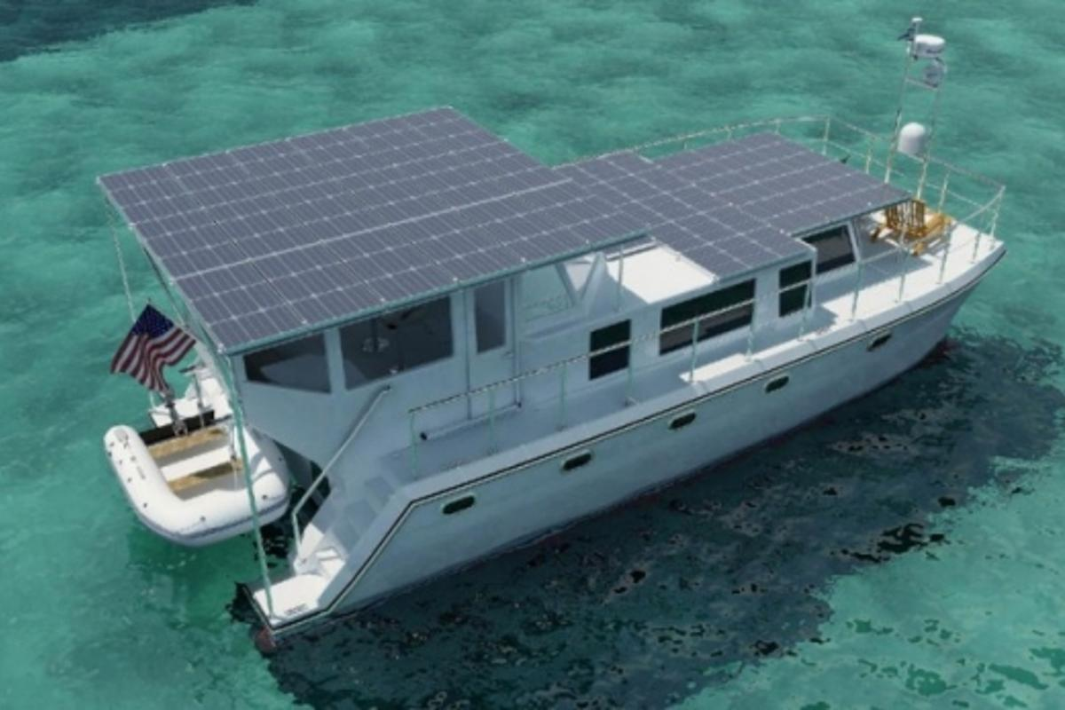 Solar powered cruising - DSe Hybrid 12m