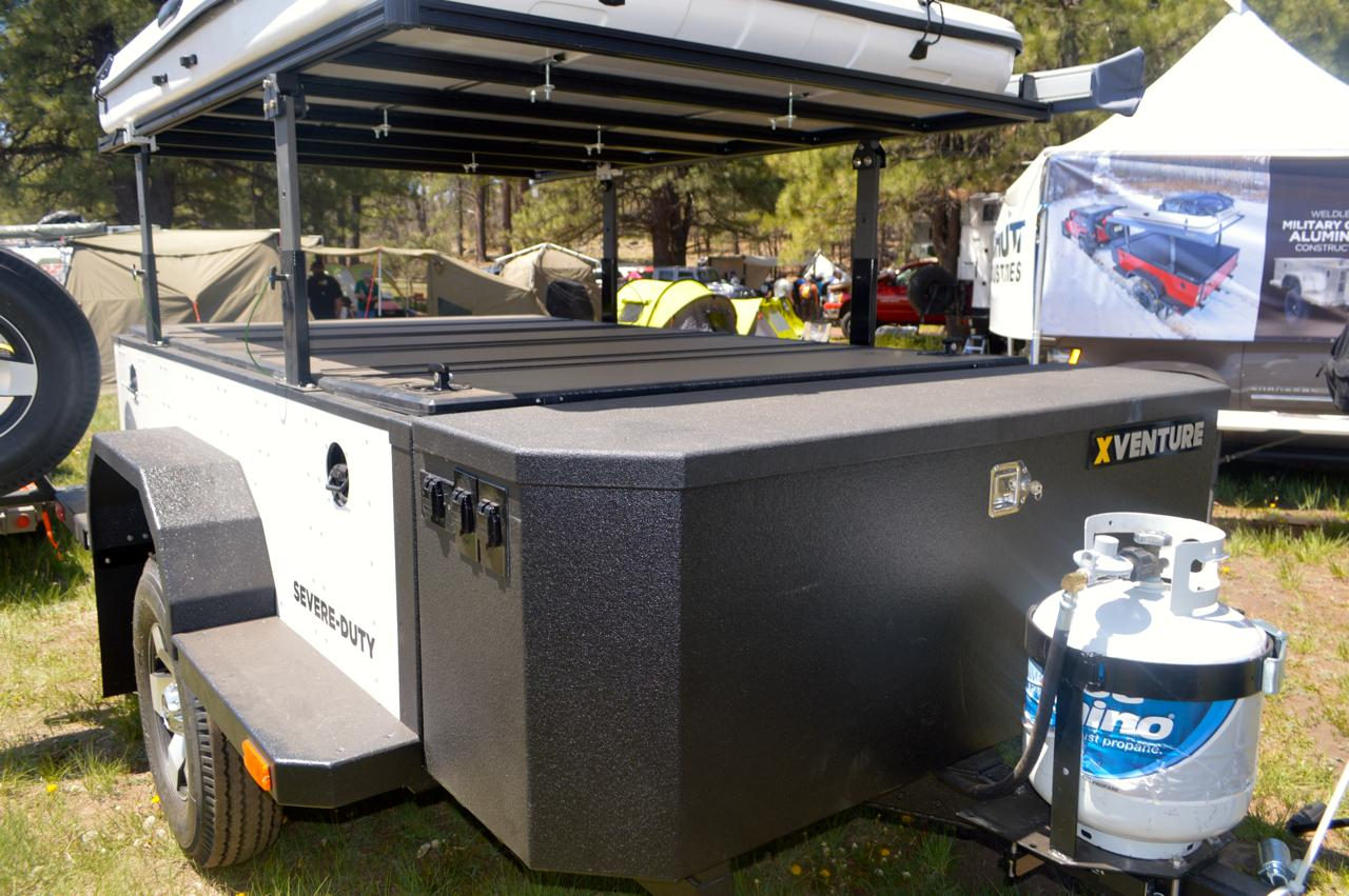 The Xventure XV-2 includes a front cargo box (Photo: CC Weiss/Gizmag)