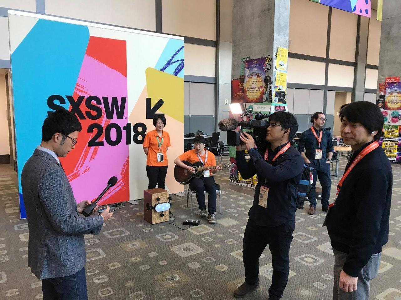 The Cabot robotic Cajon beat maker was recently demonstrated at SXSW in Austin, Texas