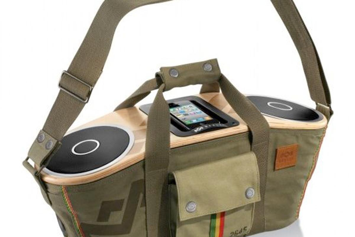 The House of Marley recently celebrated a certain Reggae legend's birthday with the release of the Bag of Rhythm portable stereo speaker system