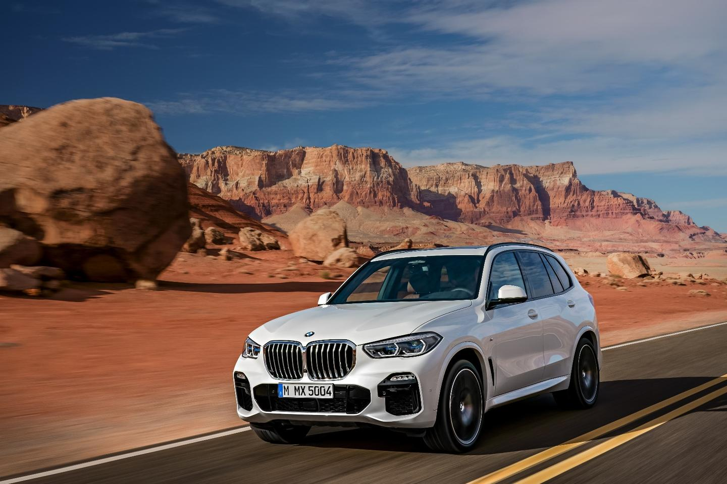 BMW has rolled out the fourth generation of its ever-popular X5