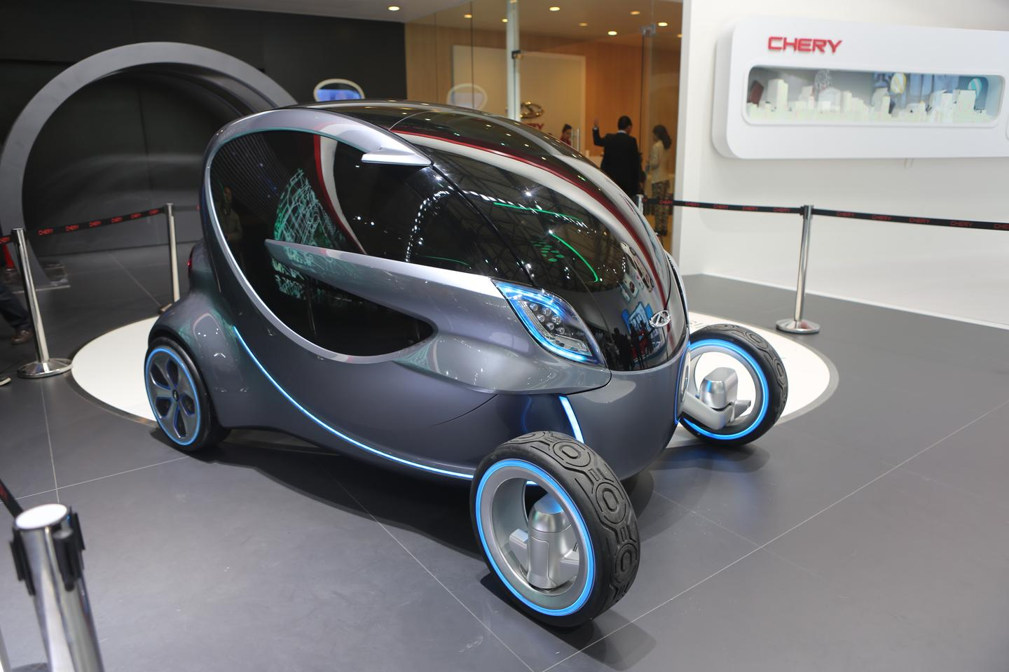 The Chery Ant 2.0 (Photo: Gizmag)